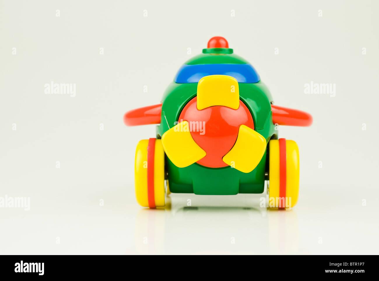 toy plane - Stock Image