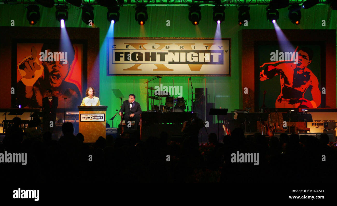 Muhammad Ali's Celebrity Fight Night XV - Stock Image