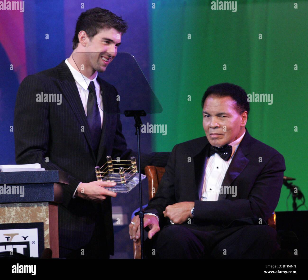 Muhammad Ali's Celebrity Fight Night XV Stock Photo