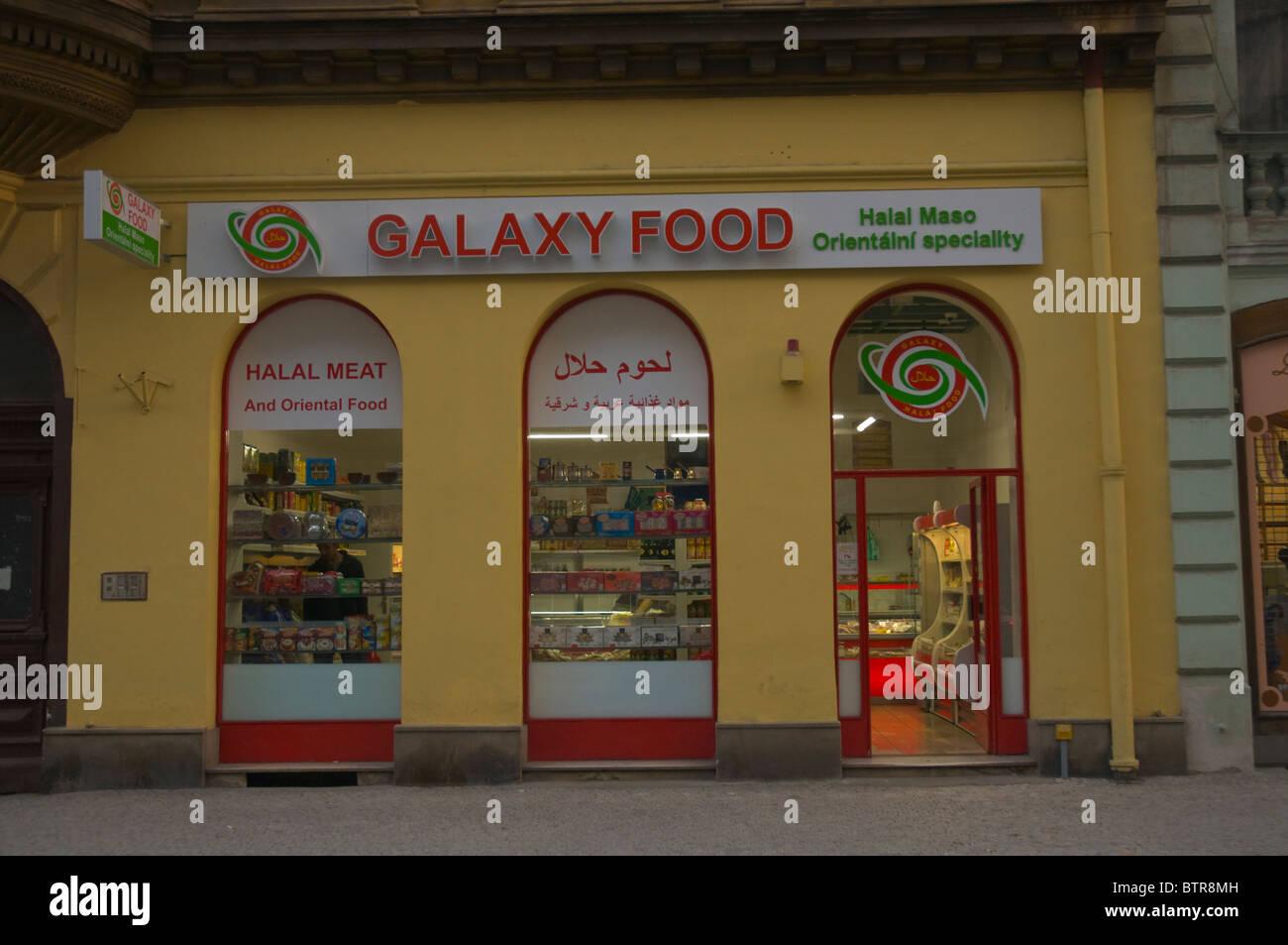 Galaxy Food International Food Shop New Town Prague Czech Republic