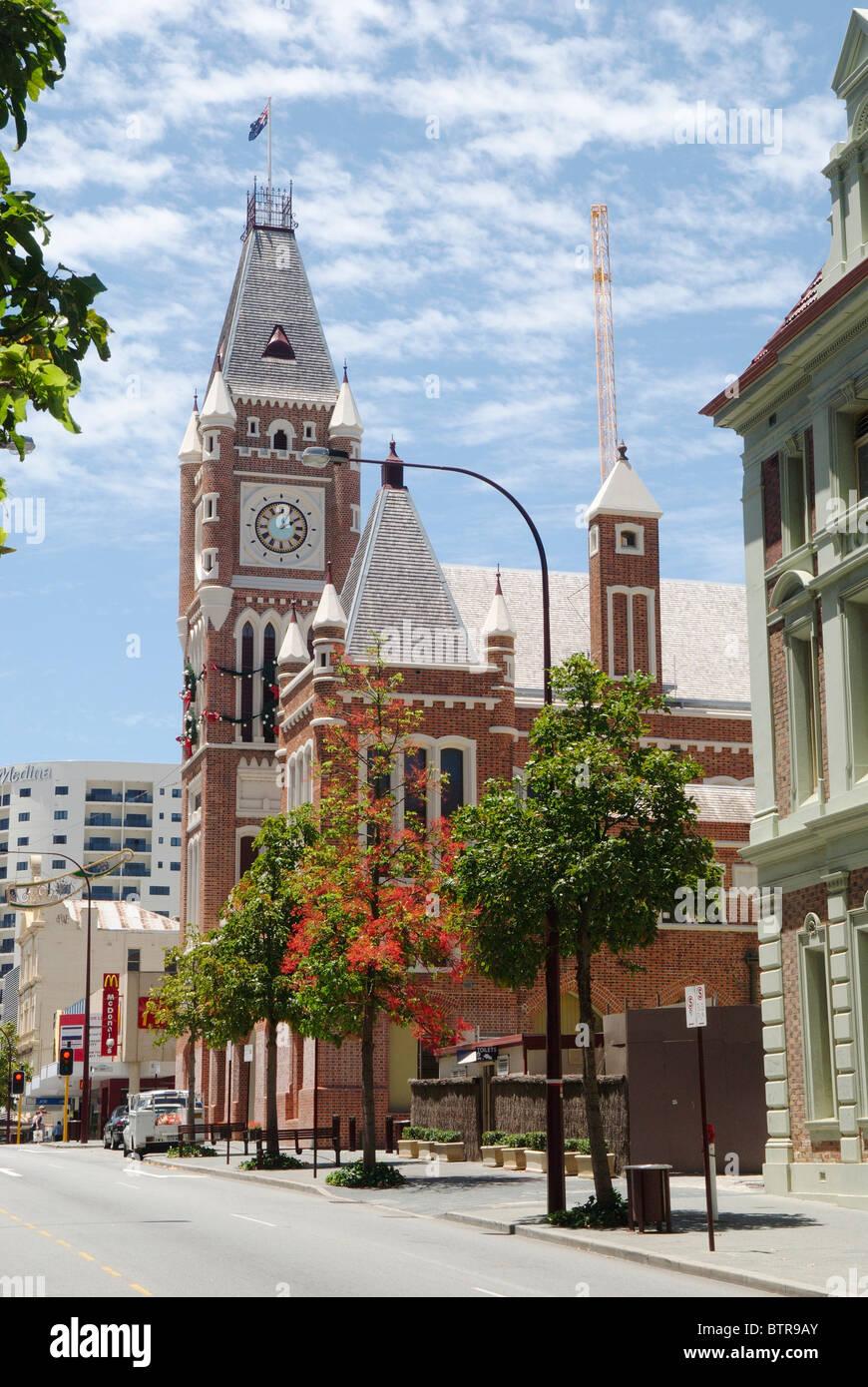 Australia, Australasia, Perth, Town hall - Stock Image