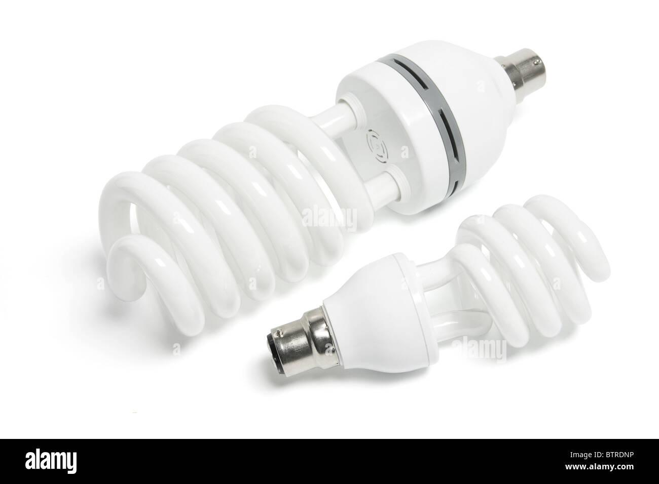 Compact Fluorescent Lightbulbs - Stock Image
