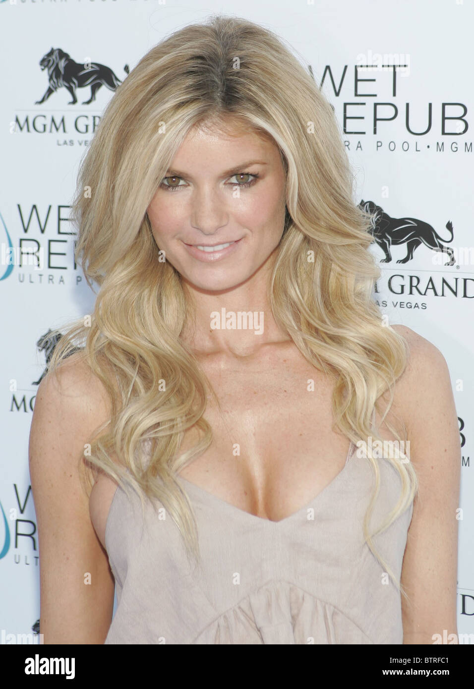Marisa Miller at WET REPUBLIC - Stock Image