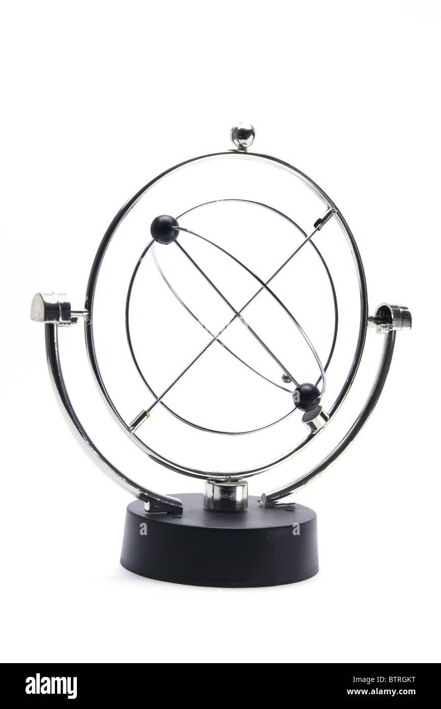 Kinetic Motion Desk Toy - Stock Image