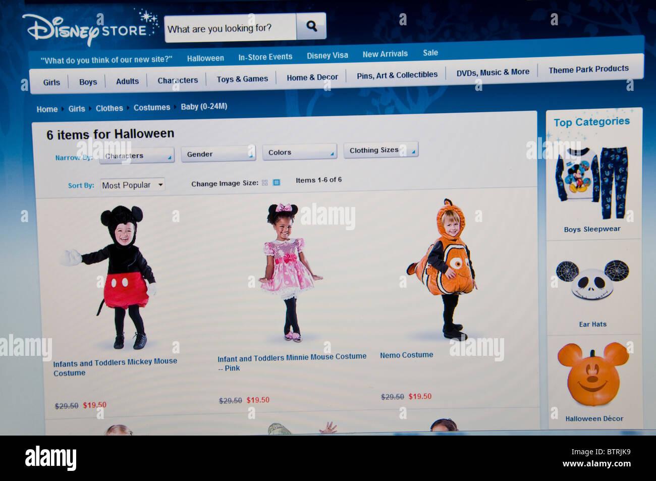 halloween disney store website online stock photo: 32481661 - alamy