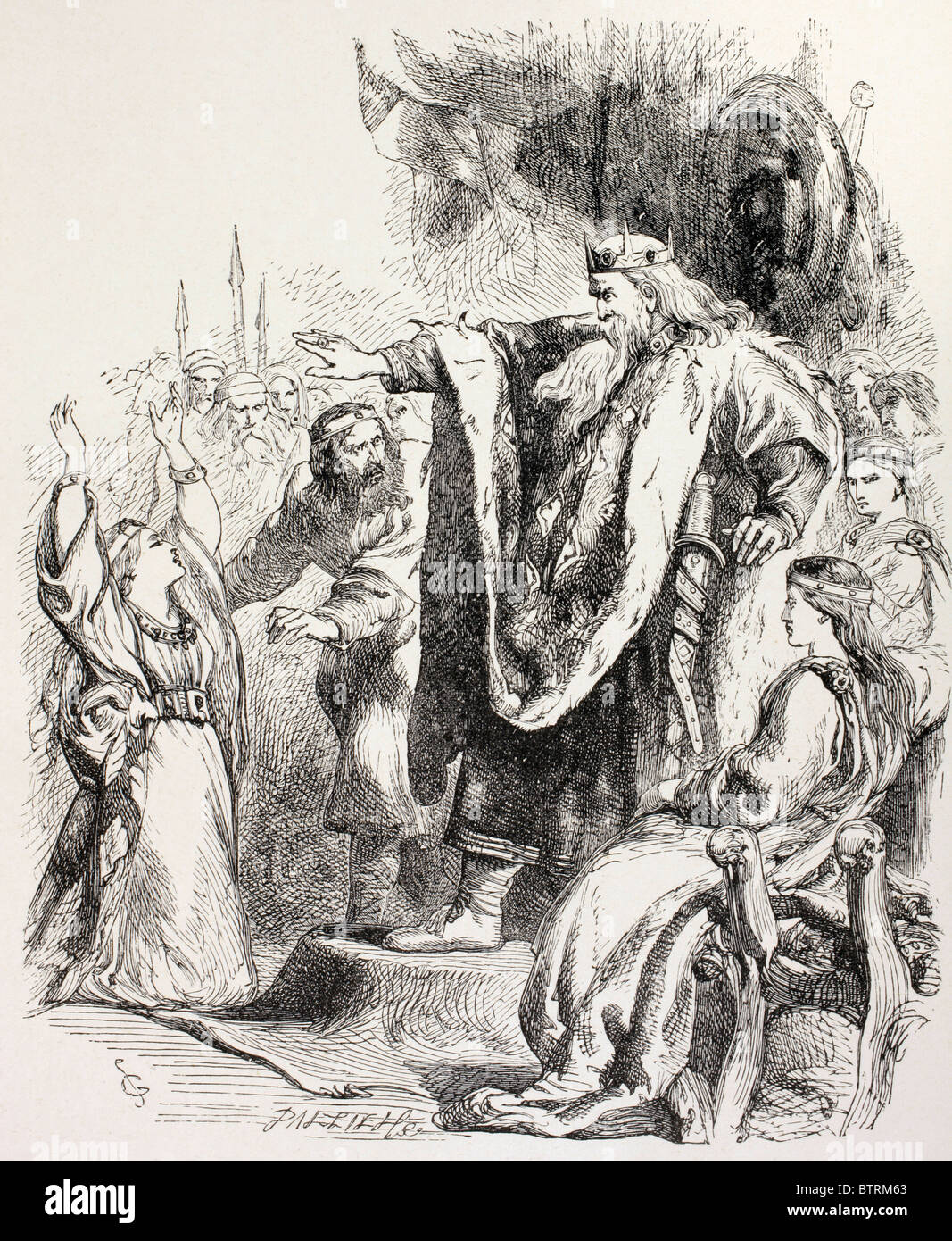 reconciliation between cordelia and king lear Self-realization and reconciliation: king lear king lear provides a mirror for both political chaos and family dysfunction lear as a character, illustrates both of these aspect because he is the leader of his country and the head of his family.