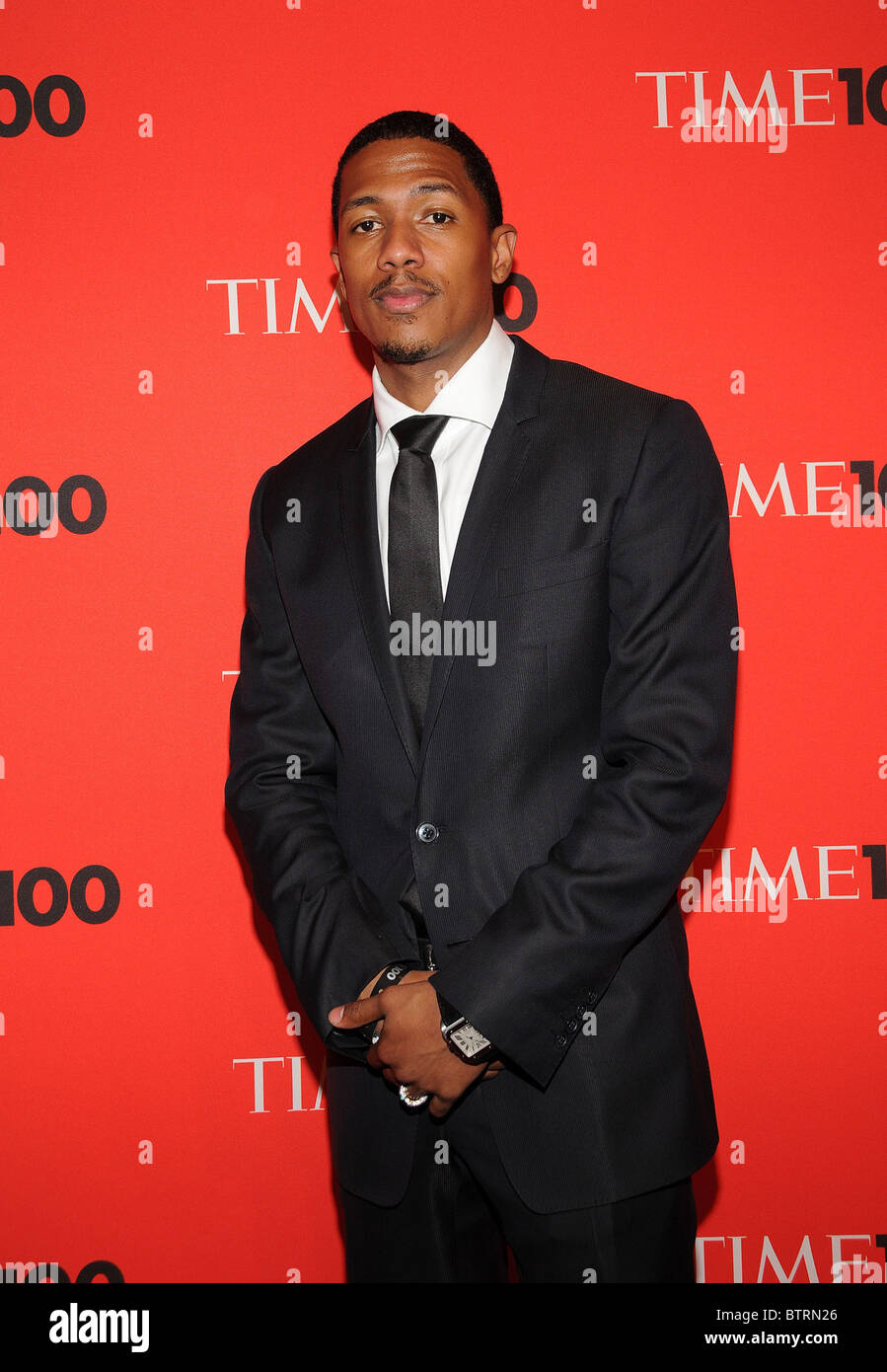 Nick Cannon arrivals TIME 100 Most Influential People inWorld Annual Gala Time Warner Center New York NY May 4 2010 - Stock Image