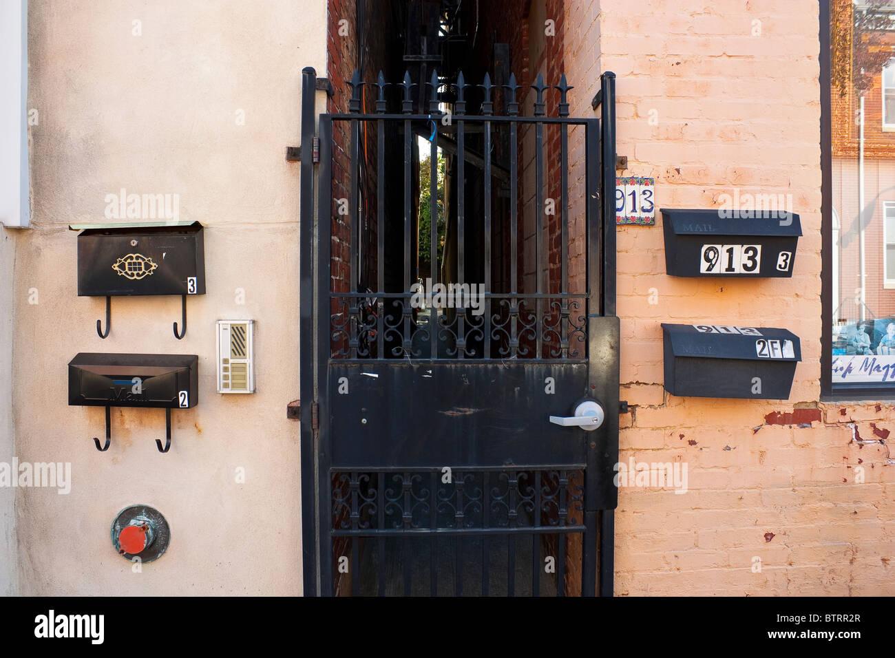 Apartment Door Numbers Stock Photos & Apartment Door Numbers ...