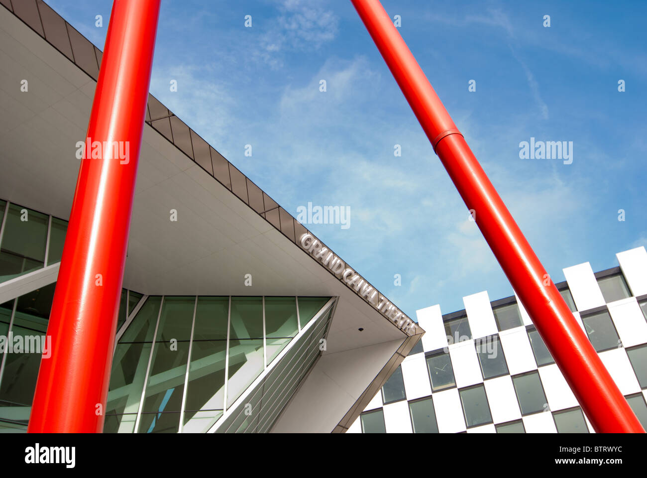 The Grand Canal Theater, Dublin - Stock Image