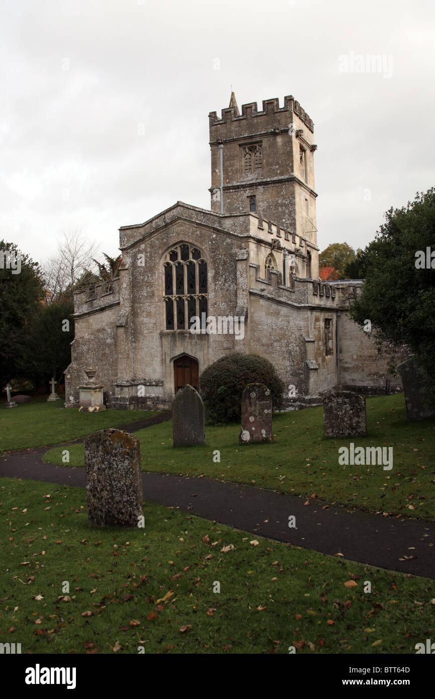 Parish Church of St James the Great, Bratton, Wiltshire - Stock Image