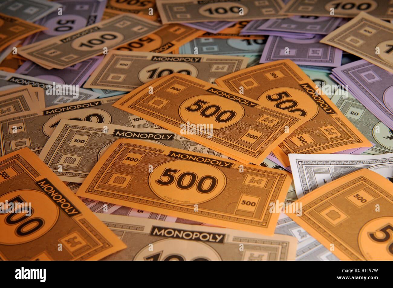 Monopoly Money Stock Photo: 32496237 - Alamy