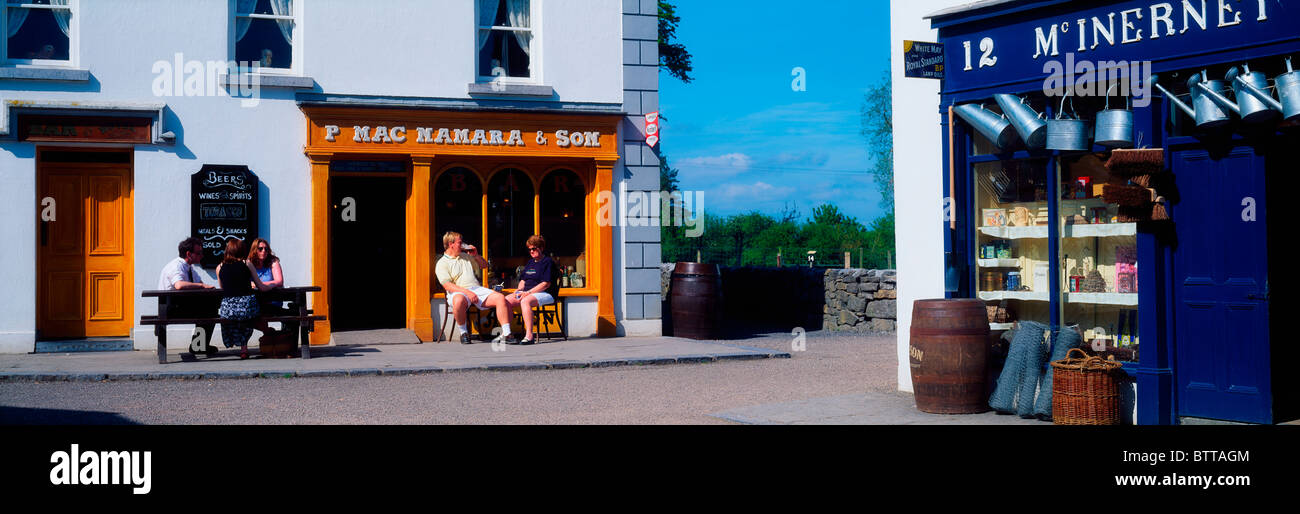 Bunratty Folk Park, Co Clare, Ireland - Stock Image