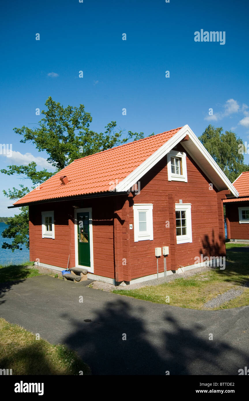 Traditional Swedish House Red Houses Sweden Timber Building Red Oxide Paint  Summer Summerhouse Houses Home Homes
