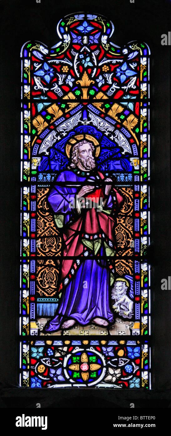 Saint Mark Symbol Stained Glass Stock Photos Saint Mark Symbol