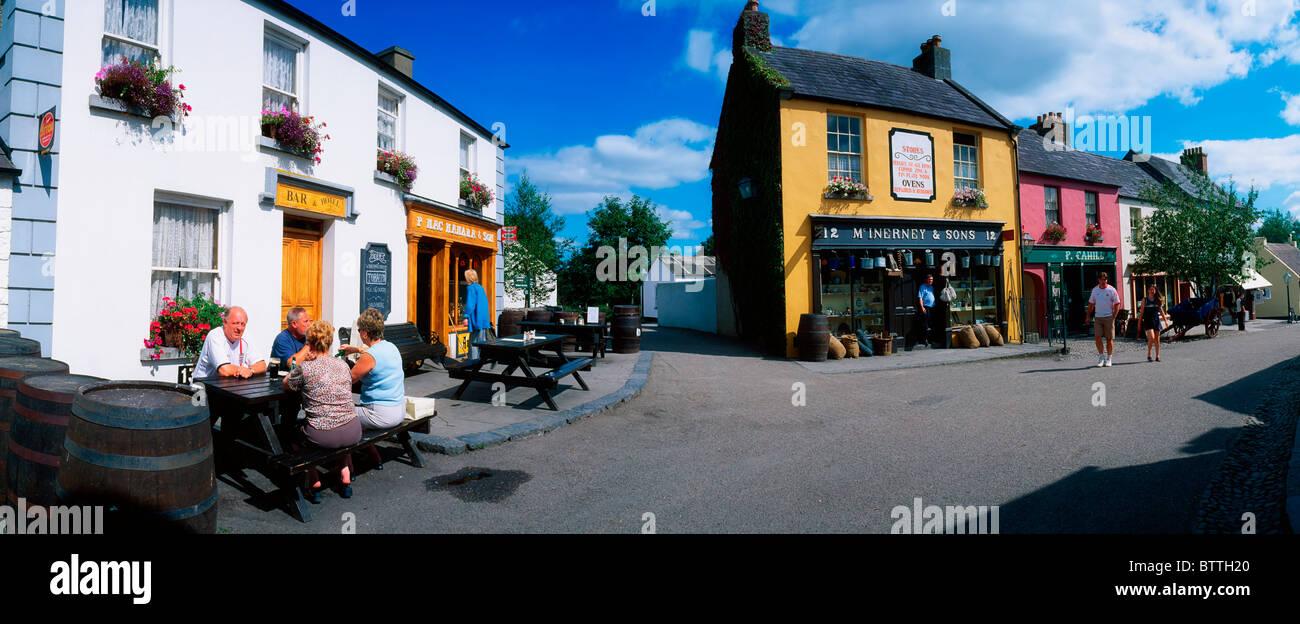 Bunratty Folk Park, Co Clare, Ireland Stock Photo
