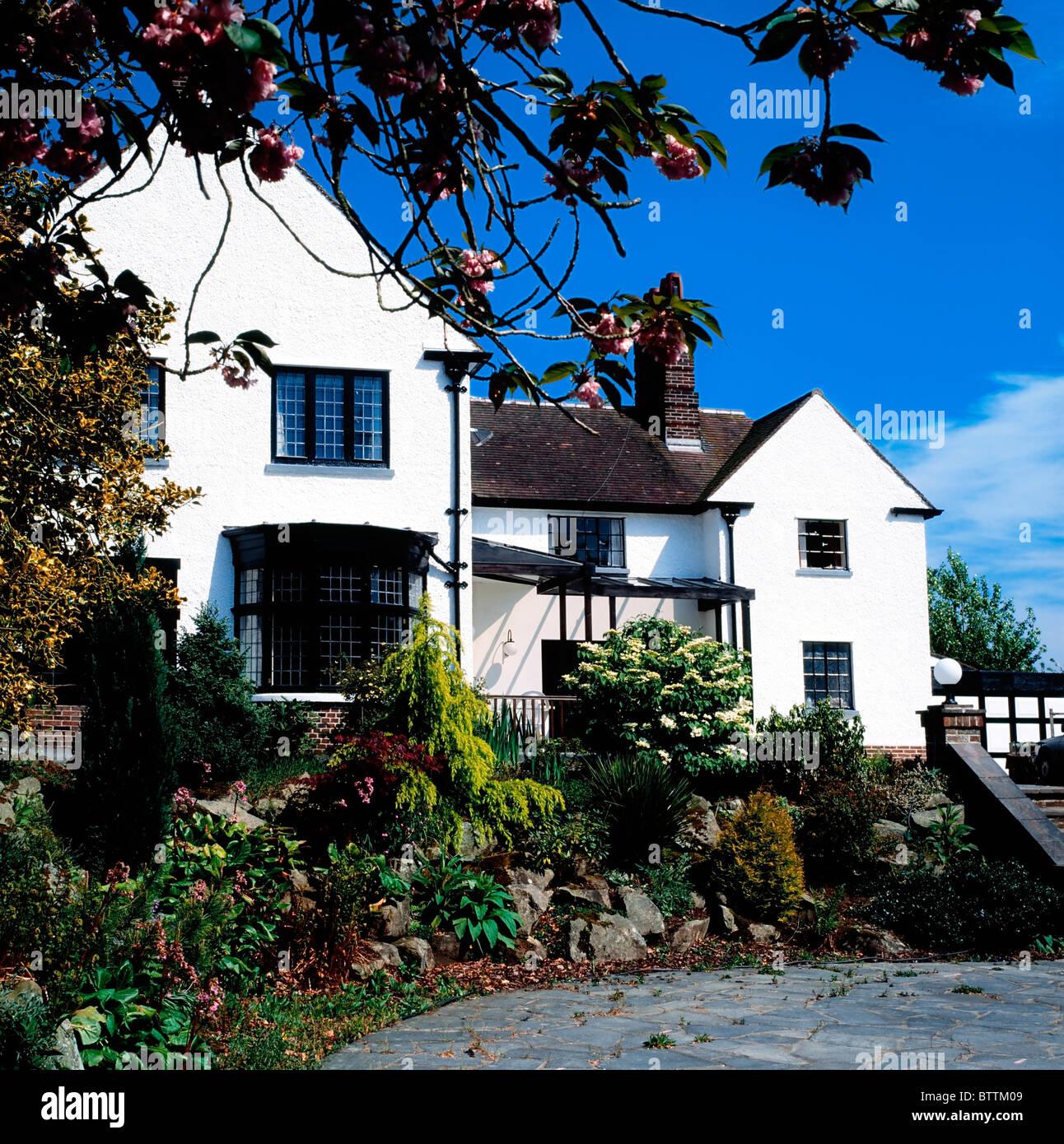Detached House, Ireland - Stock Image
