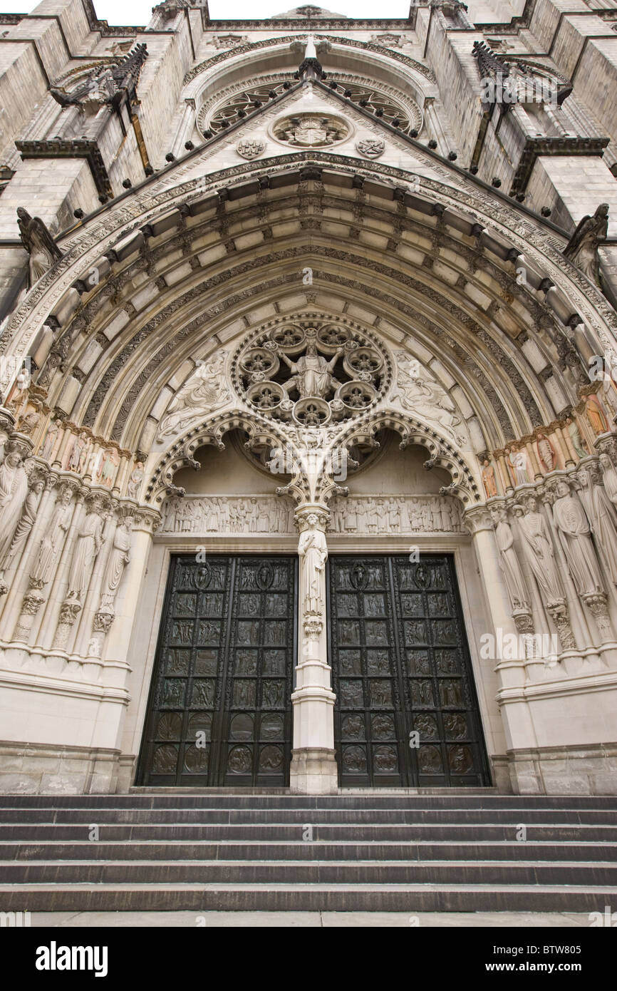 Cathedral Church of St John the Divine - Stock Image