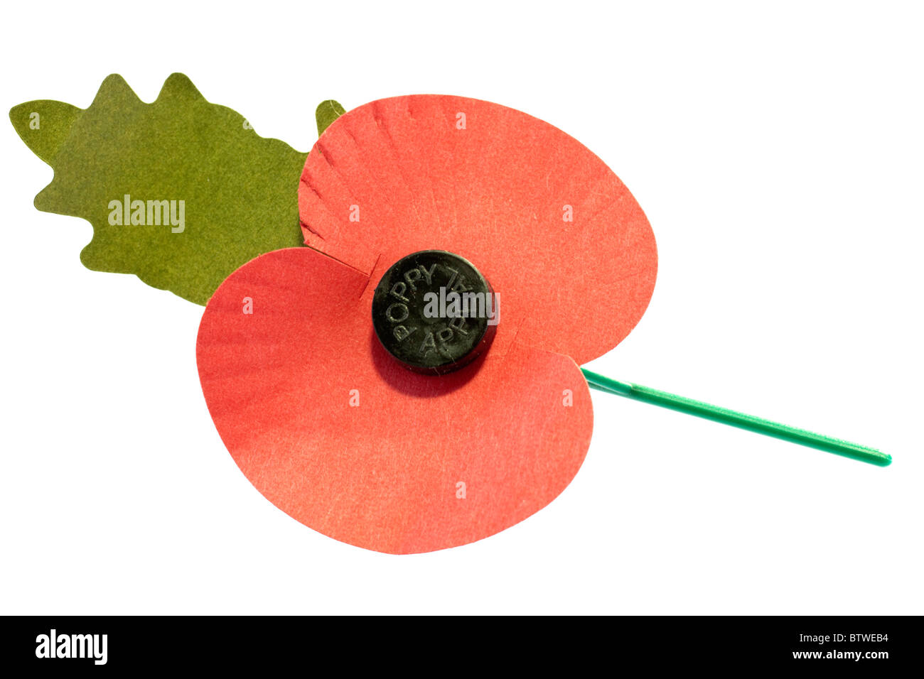 Poppy appeal - Stock Image