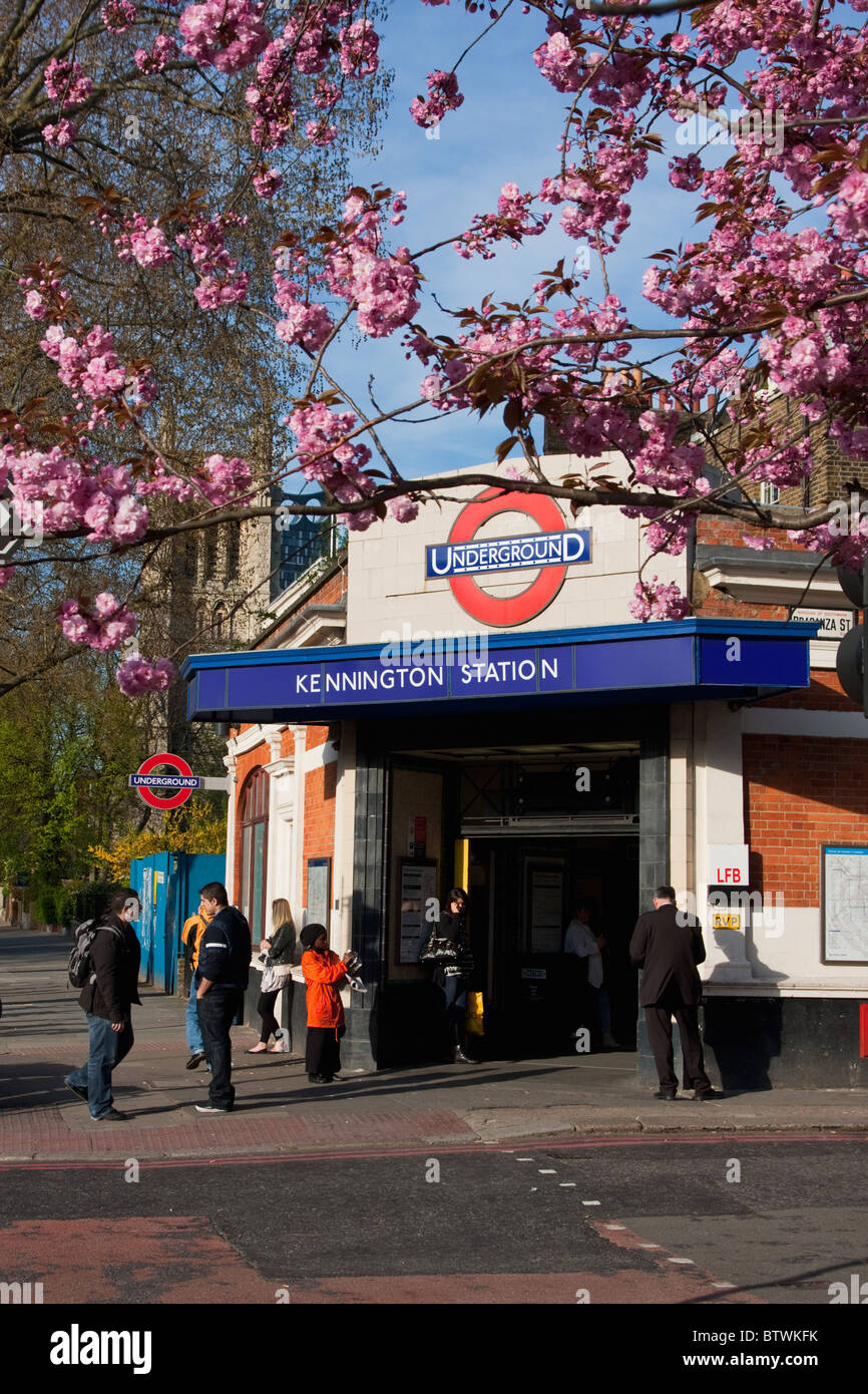 kennington in south london during spring time, april 2010 - Stock Image