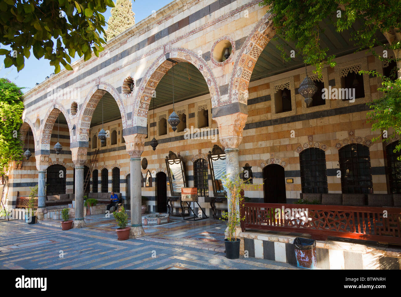 Azam Palace, Damascus, Syria Stock Photo