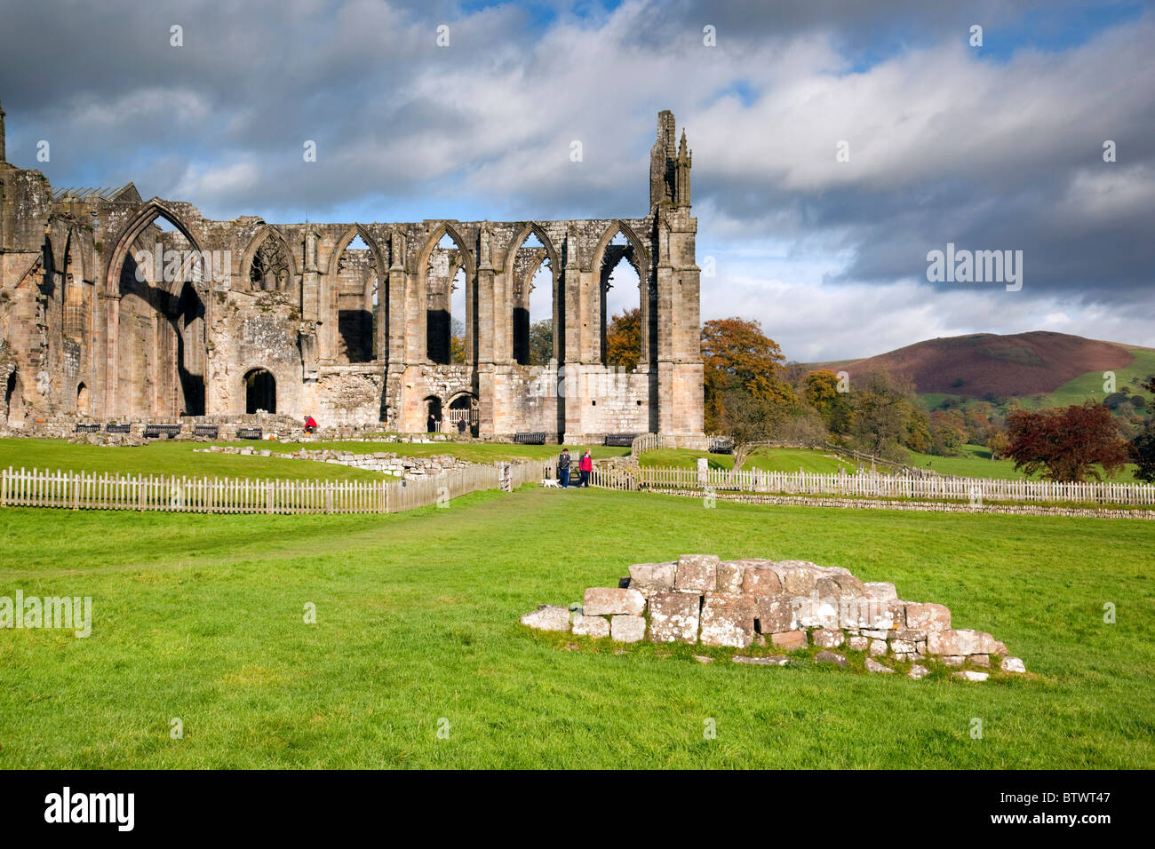 Bolton Abbey; Yorkshire - Stock Image