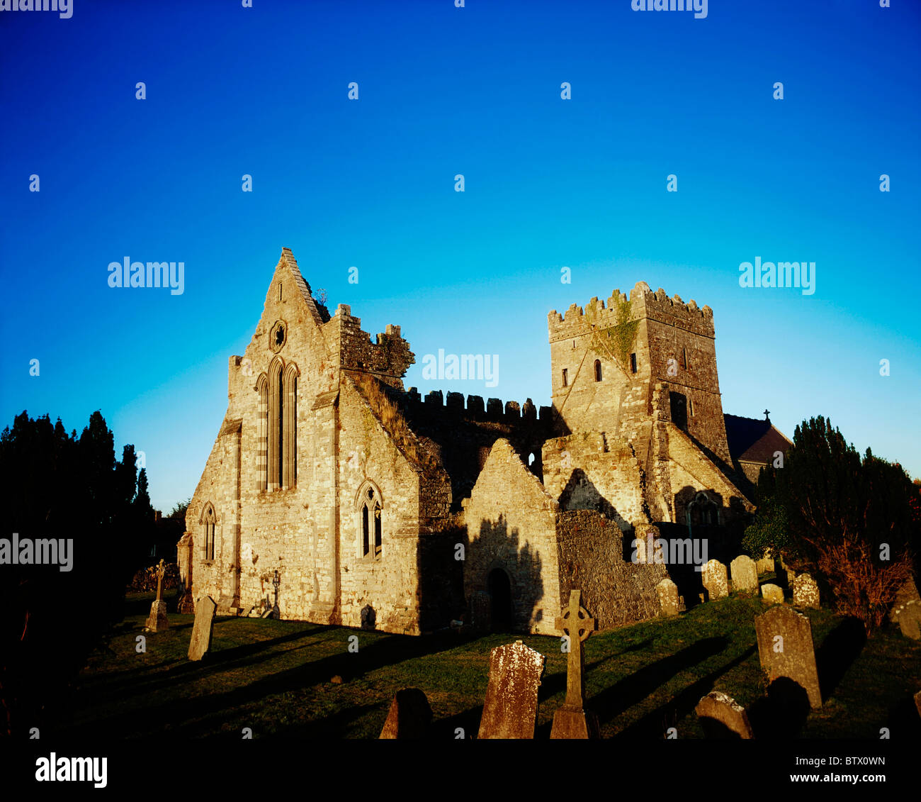 St. Mary's Church, Gowran Collegiate Church, Co Kilkenny, Ireland - Stock Image