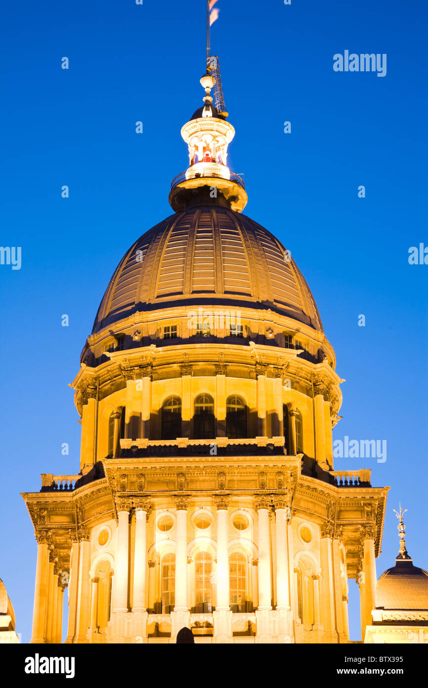 Springfield, Illinois - Stock Image