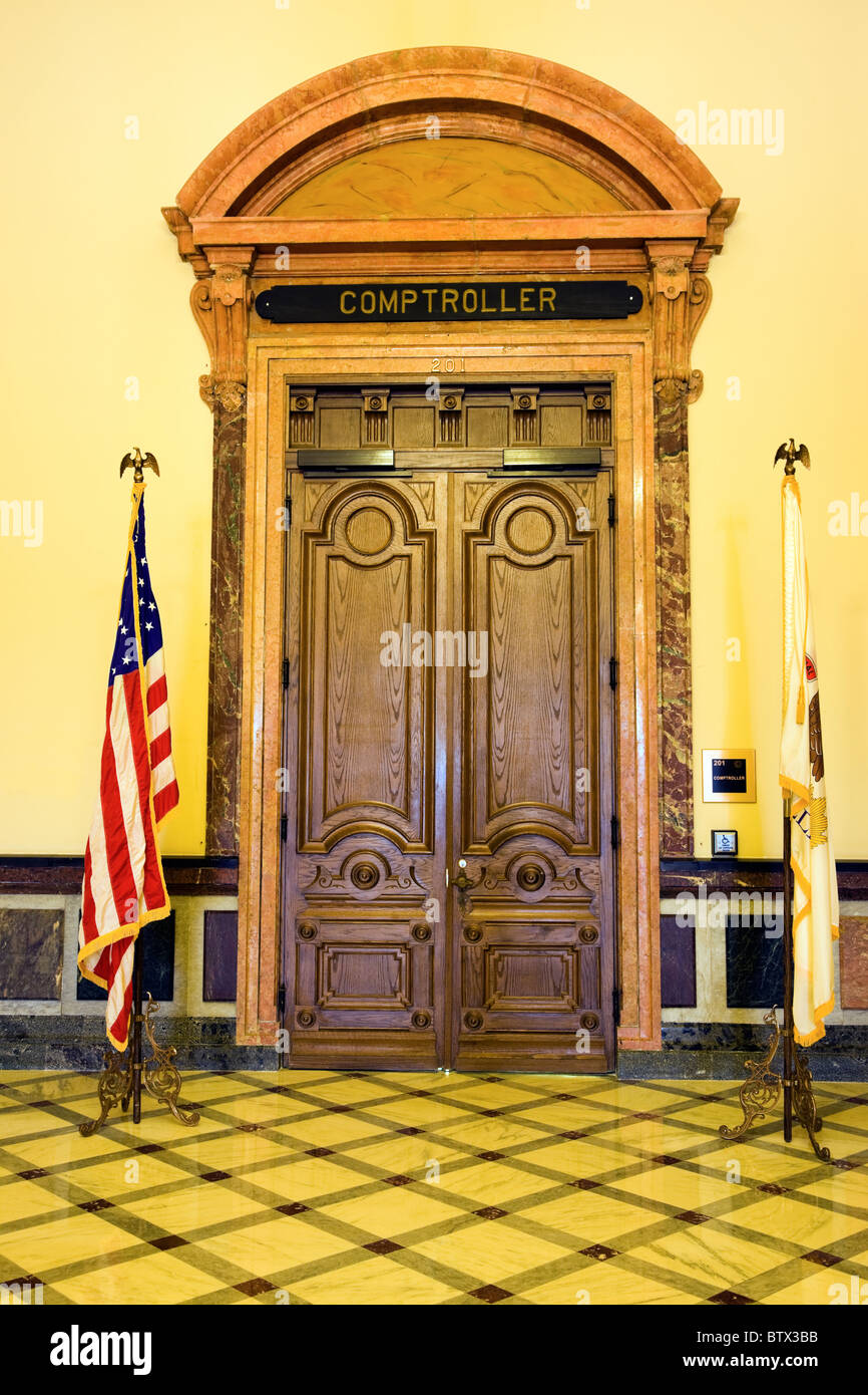 Springfield, Illinois - inside of State Capitol - Stock Image