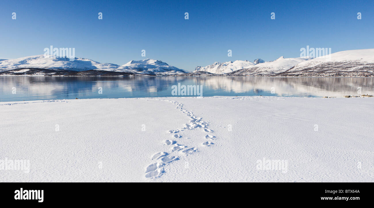 Tromso, Norway Stock Photo