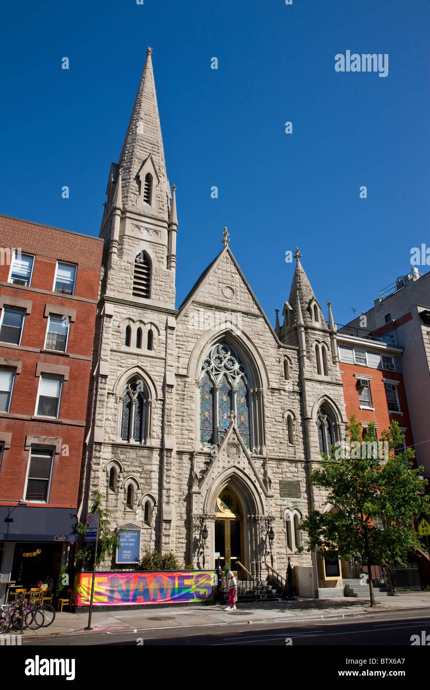 Middle Collegiate Church in the East Village - Stock Image