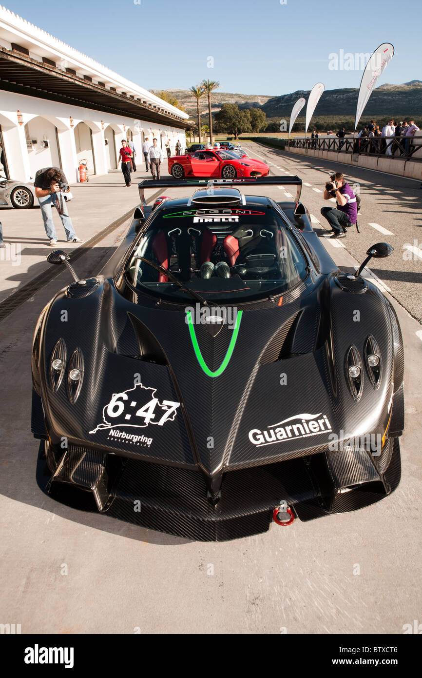Pagani Zonda R, Guarnieri, Sports Car, Track Day At Ascari Resort, Spain