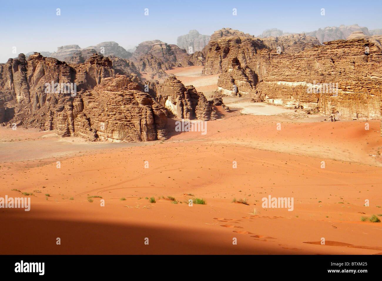 Al Ula mountain, Saudi Arabia - Stock Image