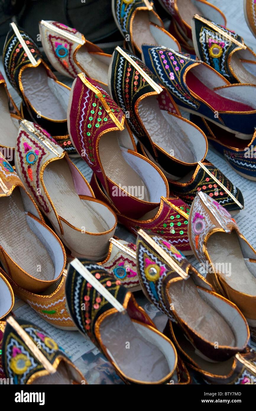 d9ec6530d49d Indian Footwear Stock Photos   Indian Footwear Stock Images - Alamy