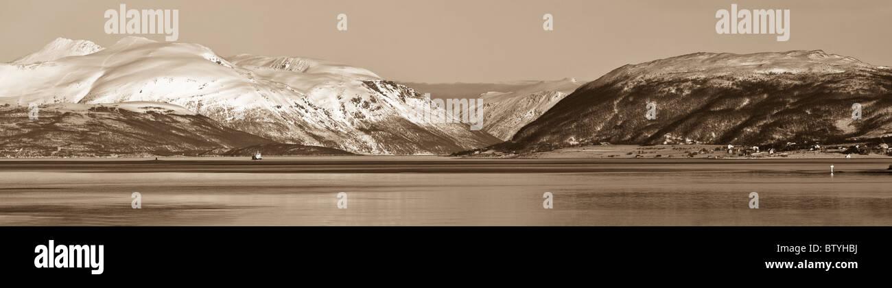 The Norwegain Fjords Stock Photo