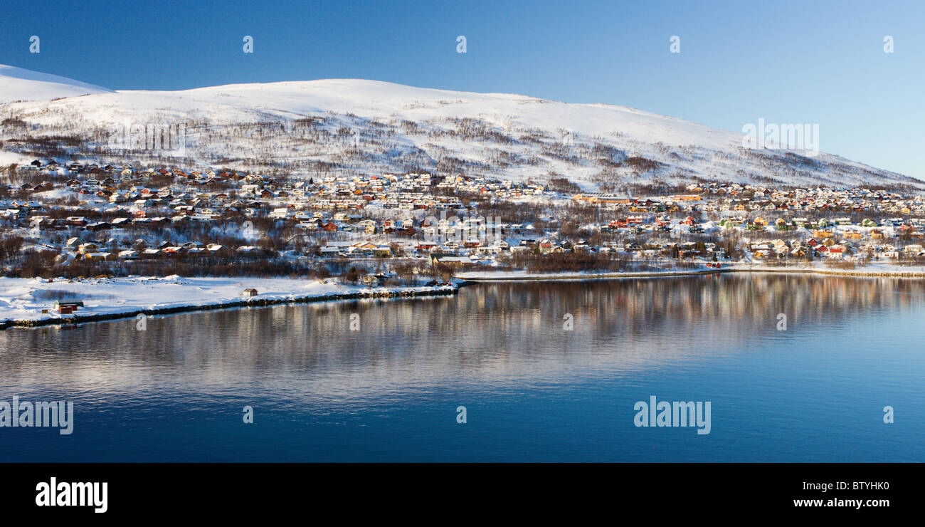 Kvaløya Tromsø Stock Photo