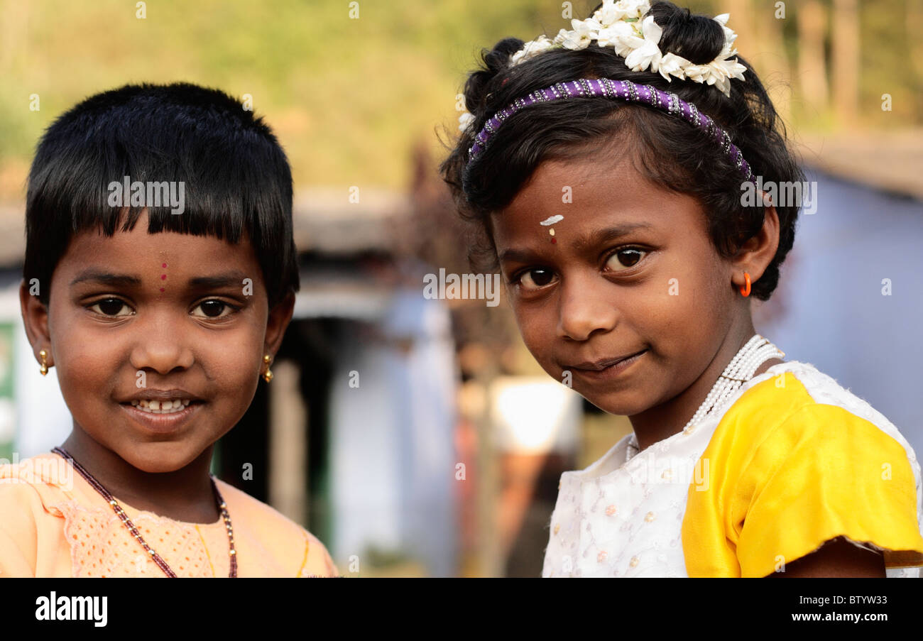 Portrait of two young girls 15