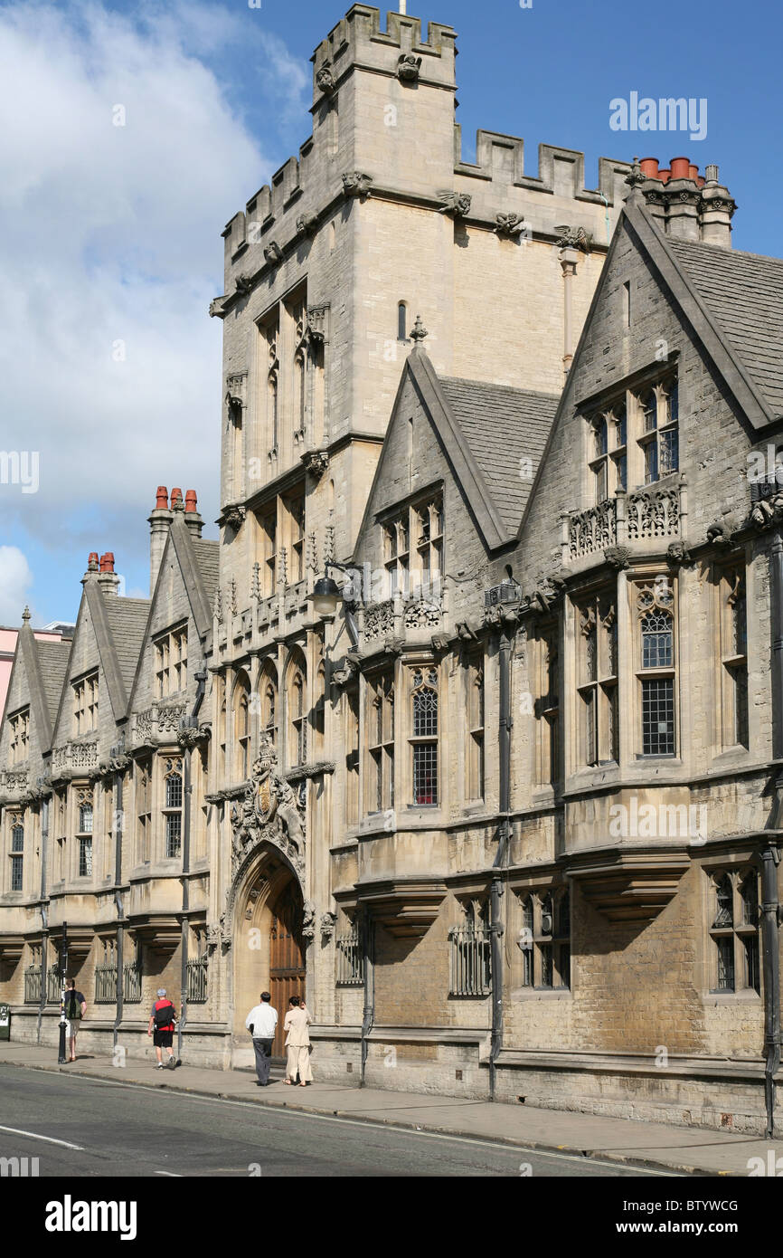 Brasenose College, Oxford University - Stock Image
