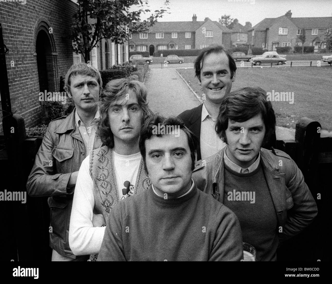 Monty Python The Royal Philharmonic Orchestra Goes To The Bathroom: The Cast Of Monty Python's Flying Circus During Rehearsals