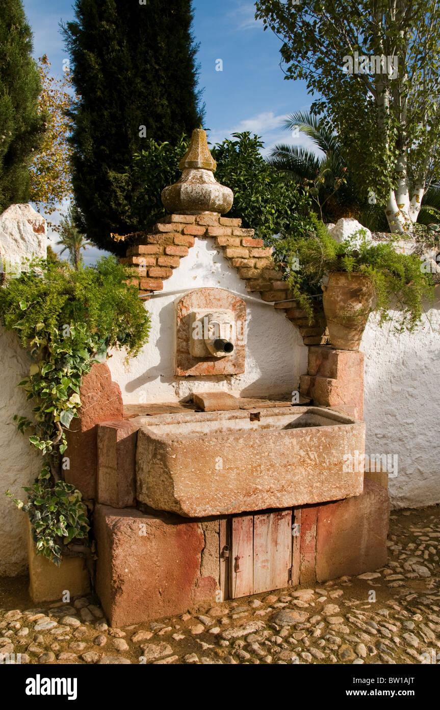 Spain Andalusia Spanish Antique Farm Shop Andalusia - Stock Image