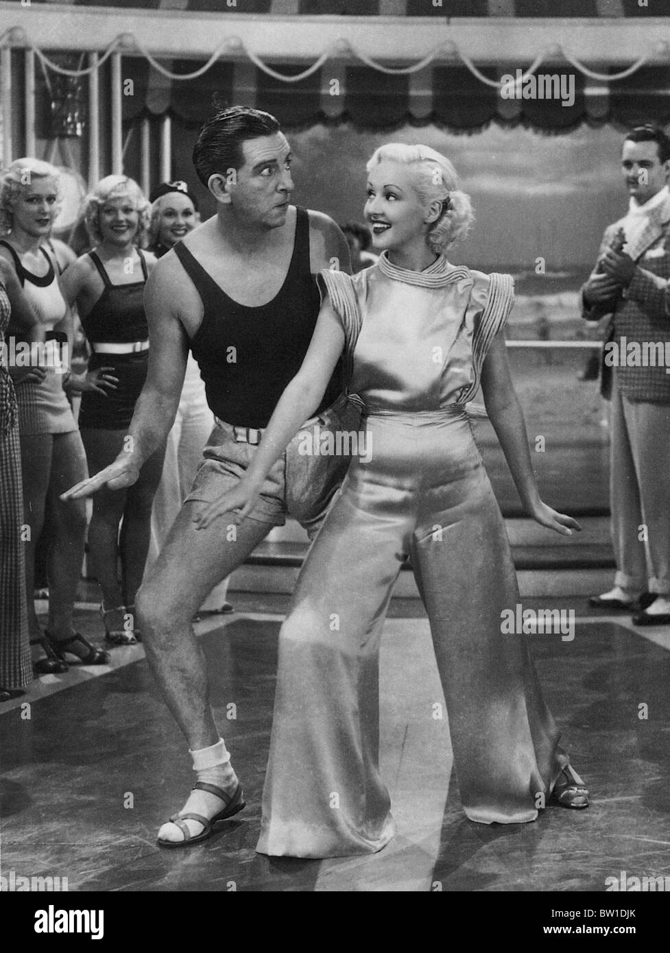 THE GAY DIVORCEE  1934 RKO film with Ginger Rogers - Stock Image