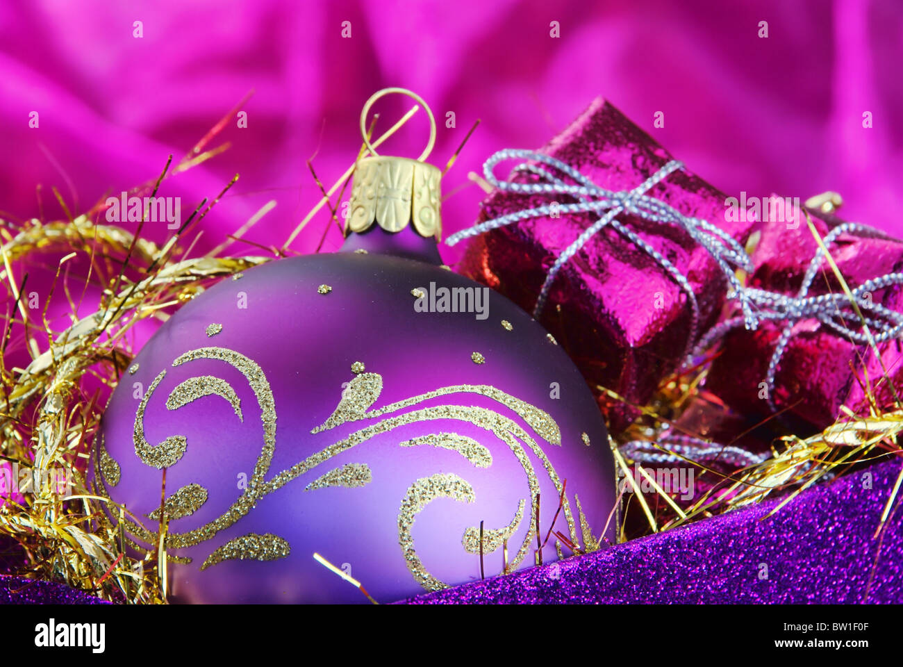 Weihnachtskugel - christmas ball 83 - Stock Image