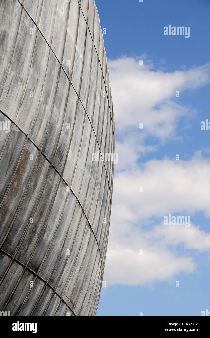Architectural detail, Auditorium Parco della Musica, designed by Renzo Piano Stock Photo