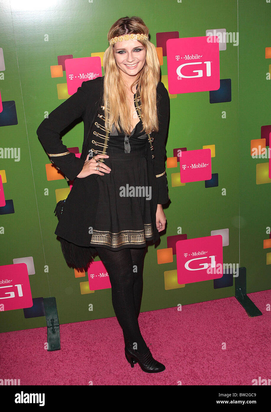T-Mobile G1 Android-Powered Mobile Phone Launch Party - Stock Image