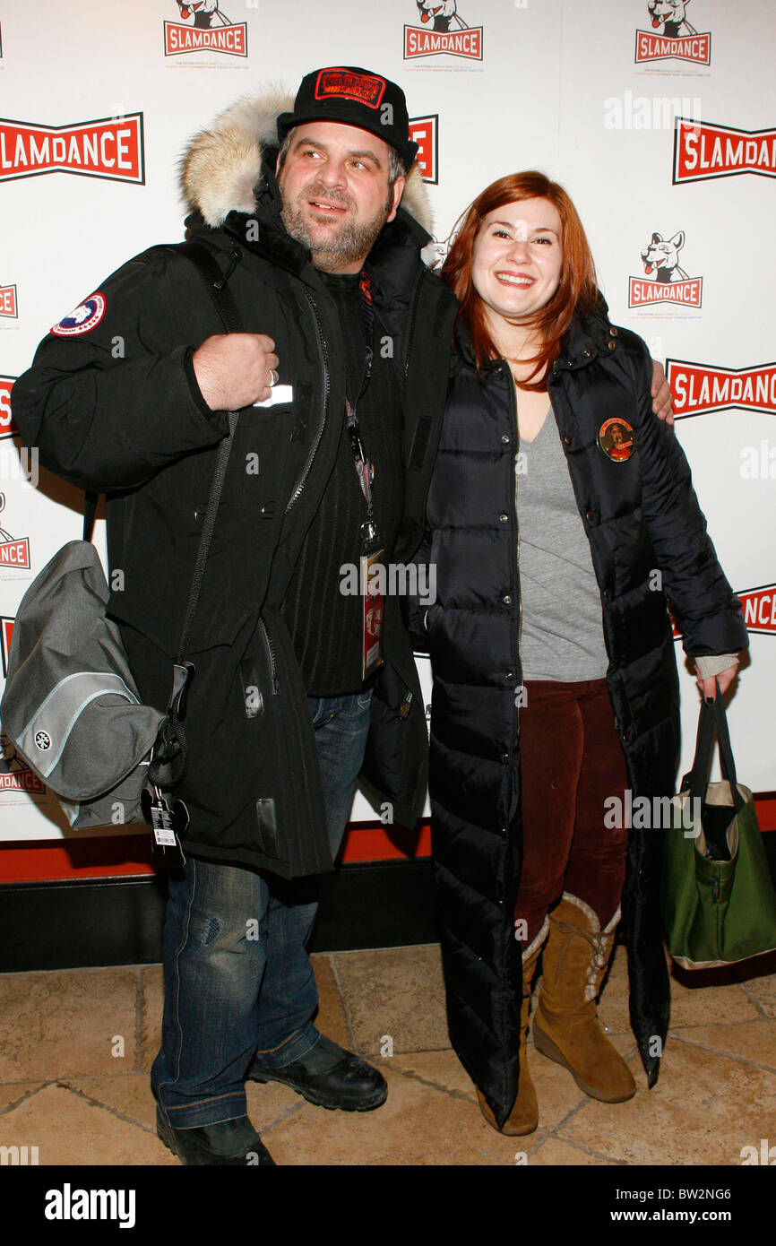 Slamdance Film Festival Opening Night Premiere of REAL TIME - Stock Image
