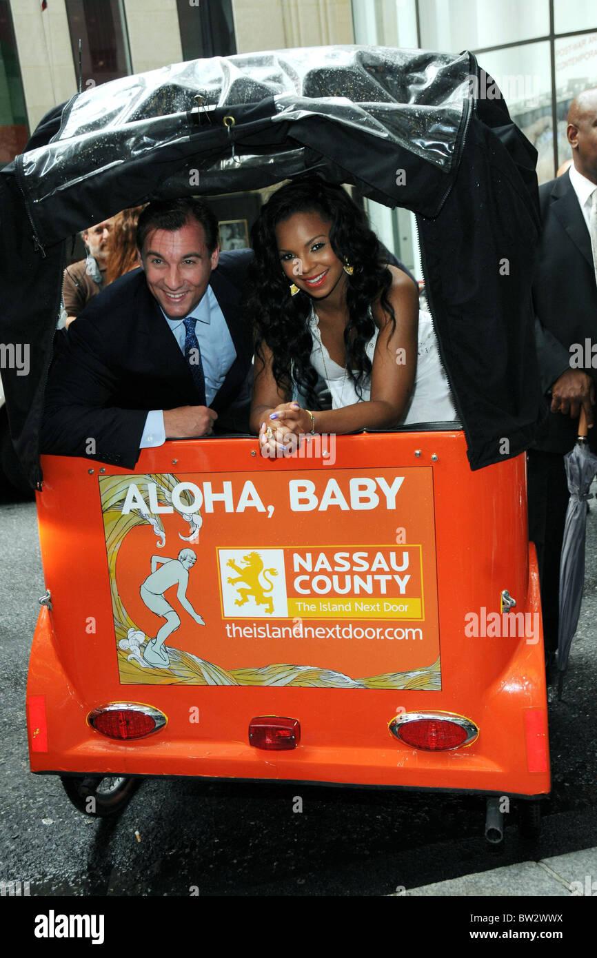 Nassau County Tourism Campaign Launch - Stock Image