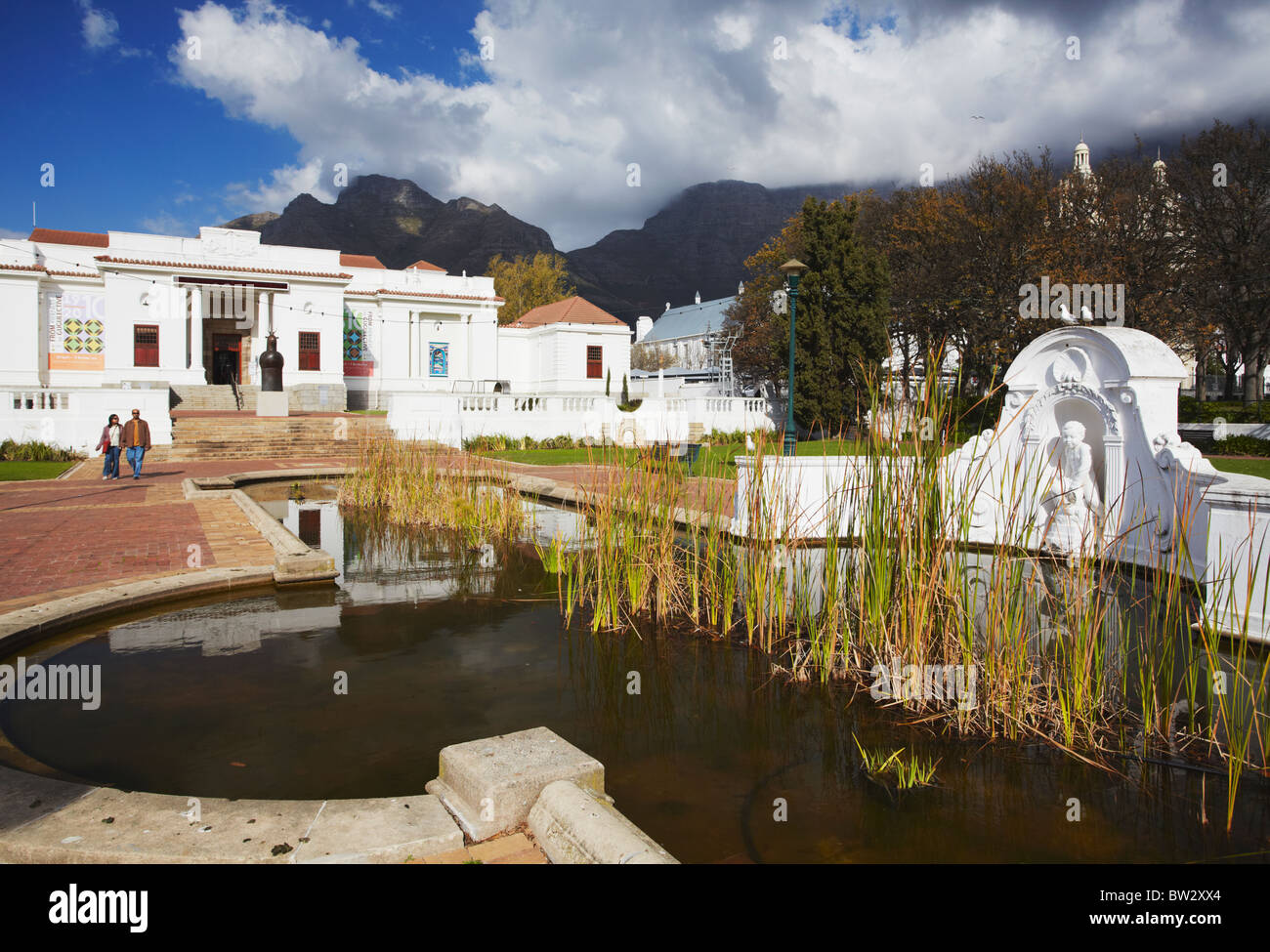 National Gallery, Company's Gardens, City Bowl, Cape Town, Western Cape, South Africa - Stock Image