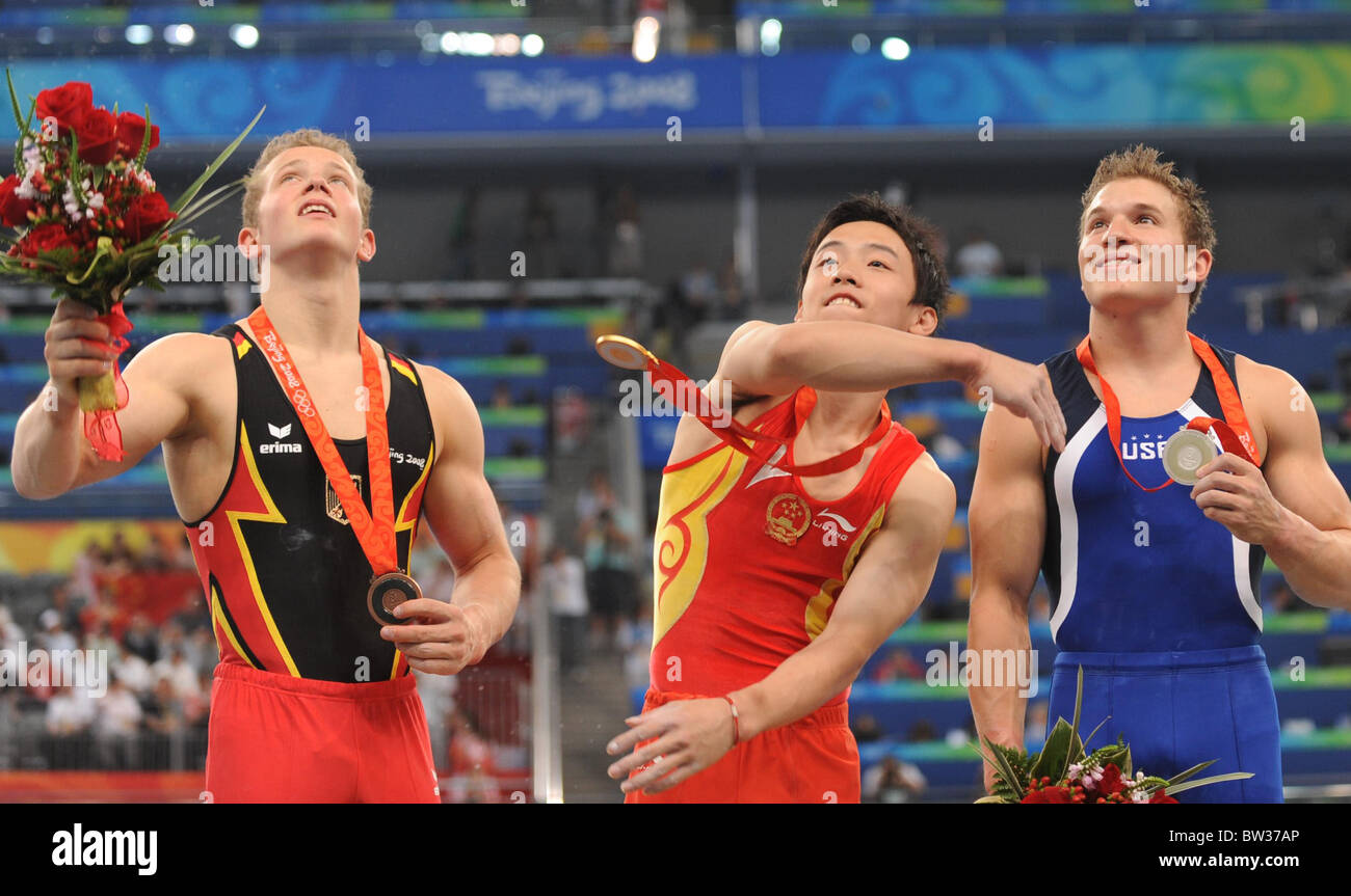 Aug 19 - Beijing Summer 2008 Olympic Games - Stock Image