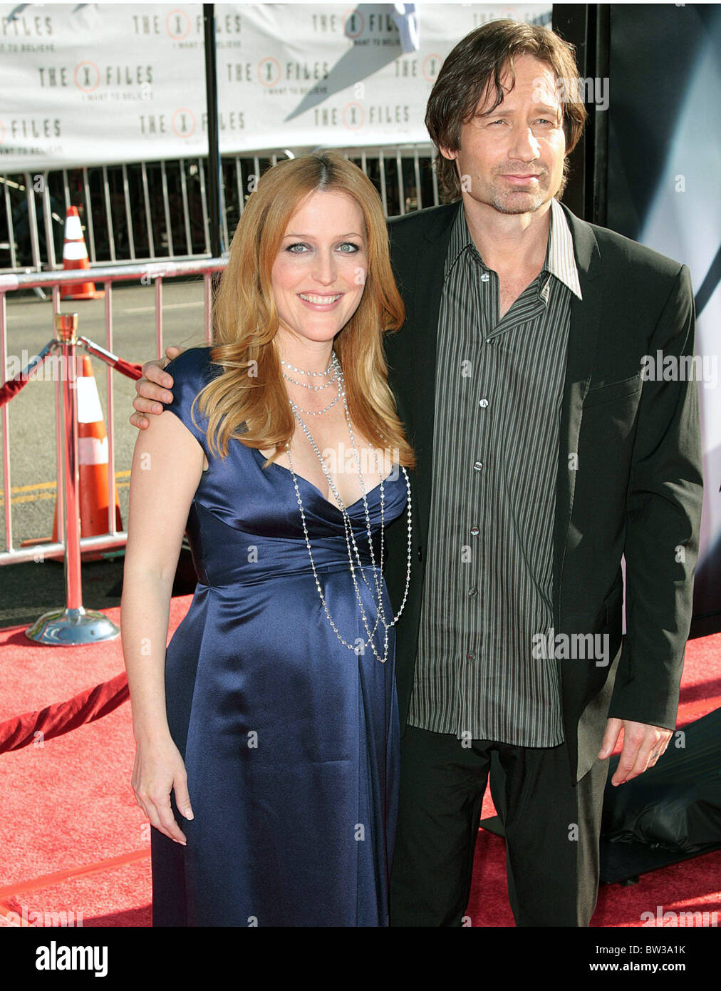 THE X-FILES: I WANT TO BELIEVE Premiere - Stock Image