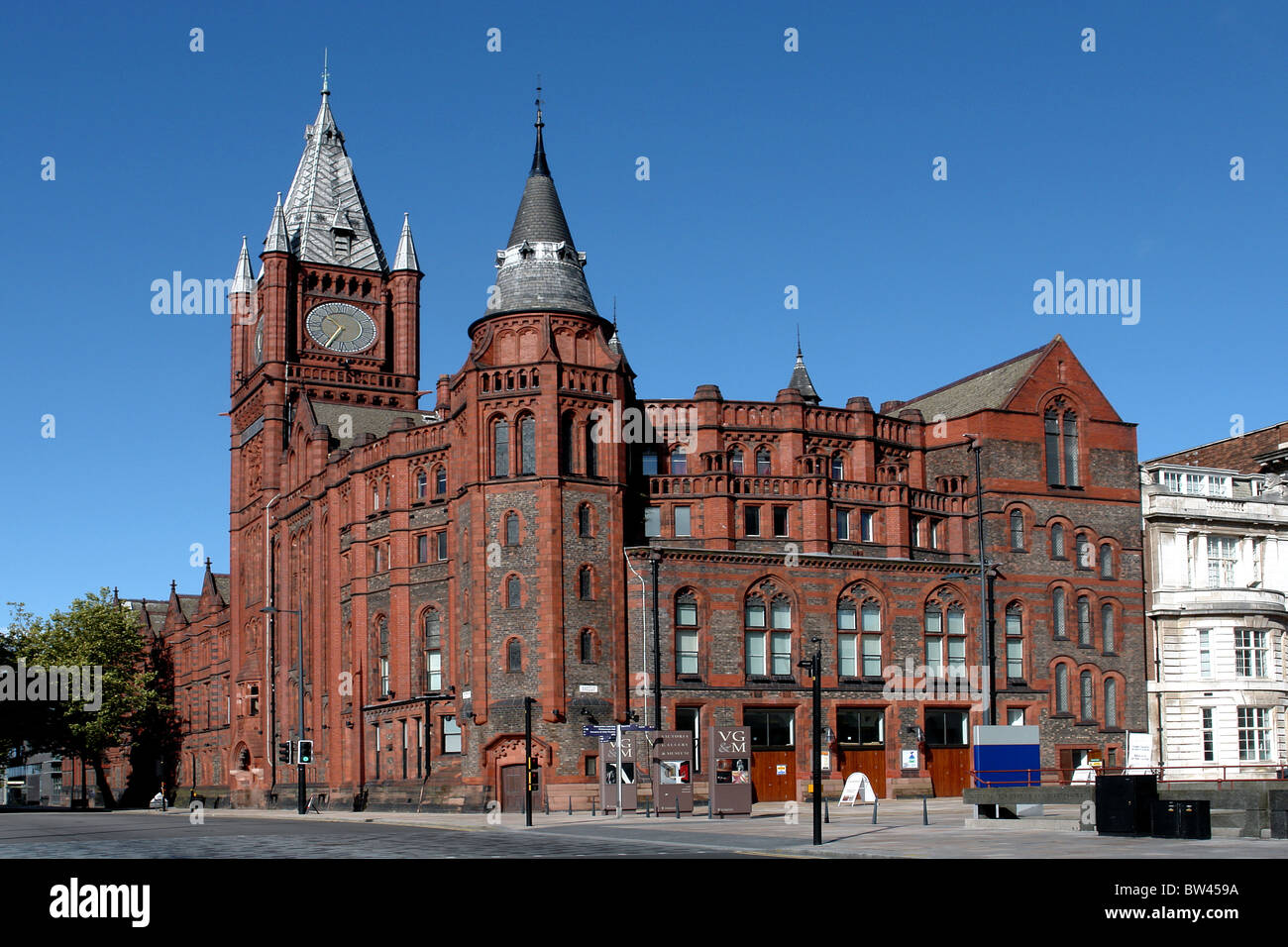 Victoria Gallery and Museum, Ashton St, University of Liverpool, Merseyside, England, United Kingdom - Stock Image