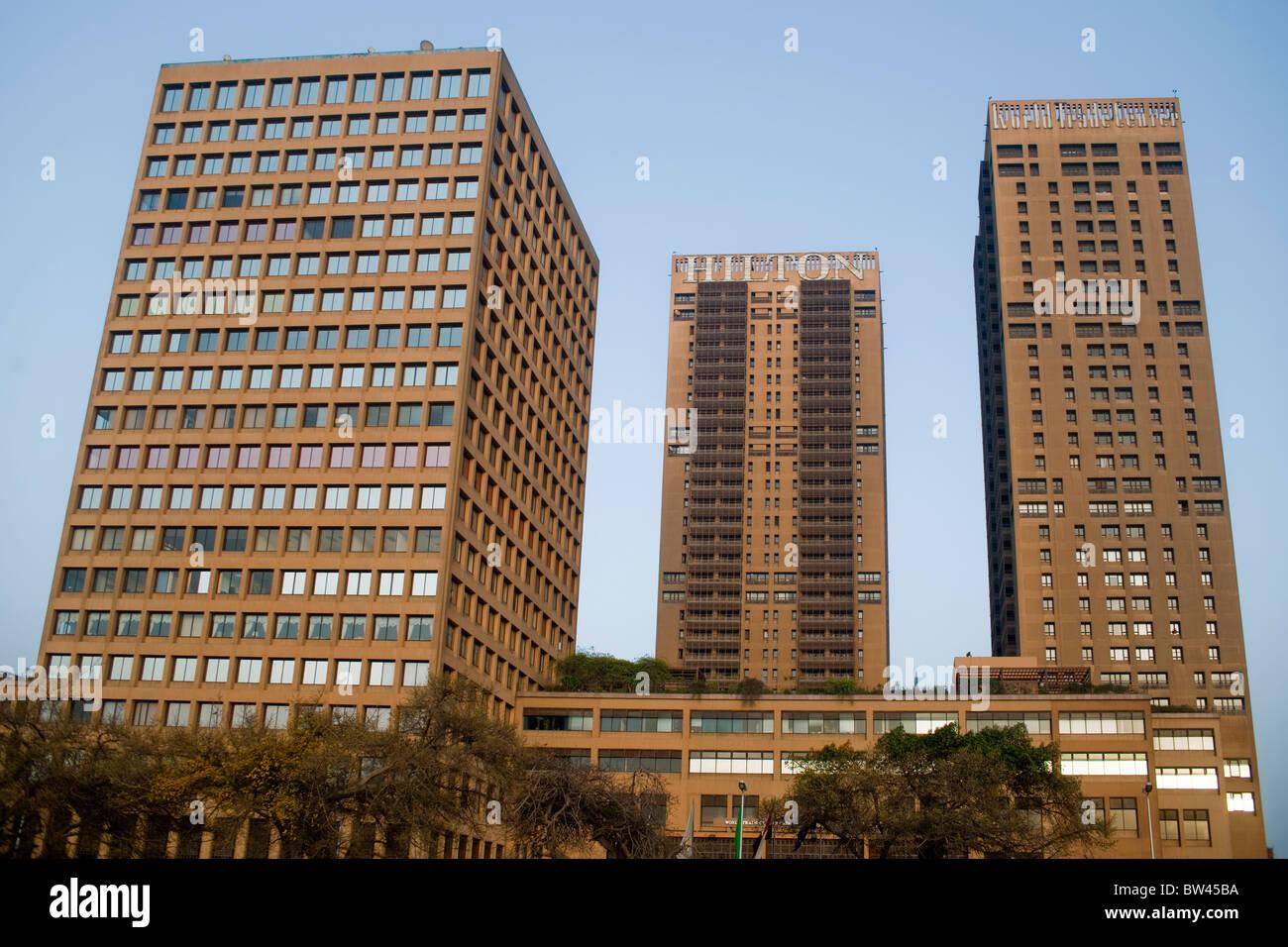 Egypt, Cairo, Hilton Cairo World Trade Center Residences - Stock Image